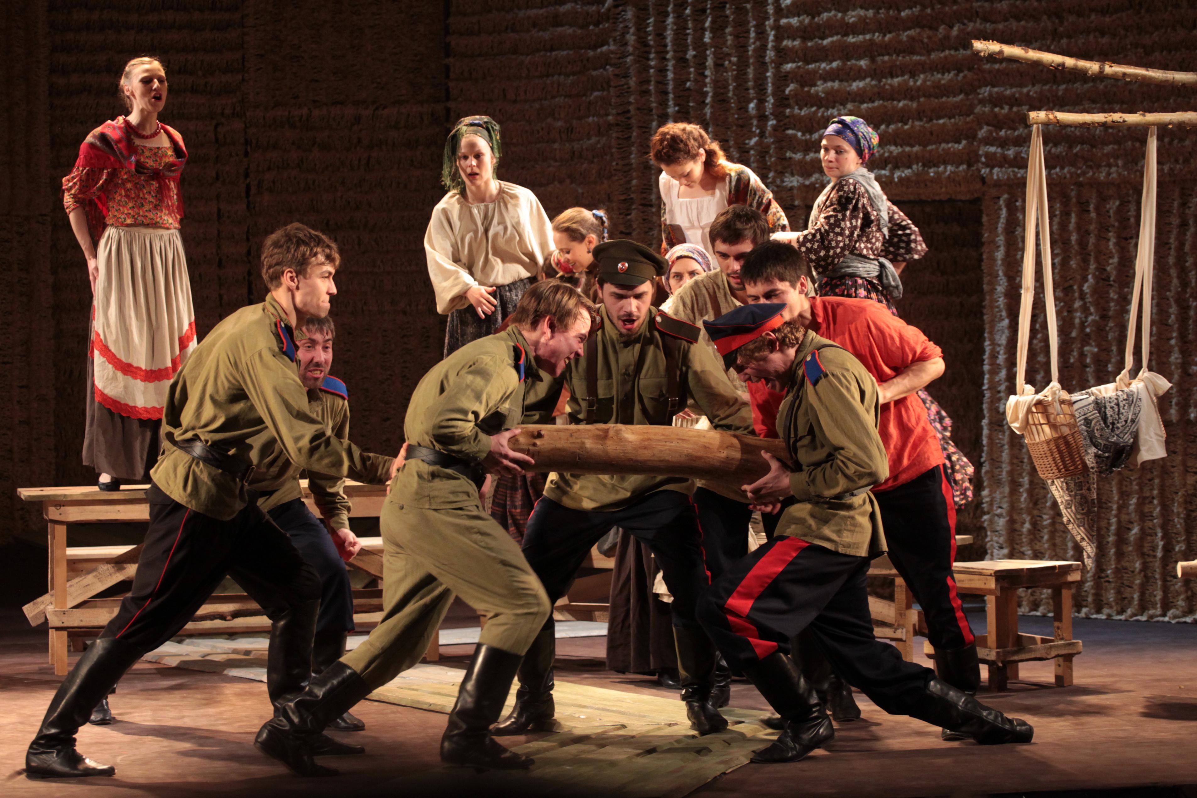 Спектакль «Тихий дон» Театр Мастерская фото